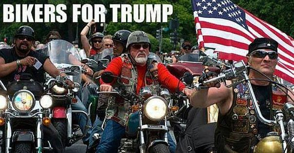 bikers-for-trump-vs-hillary-8x4