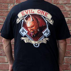 evil one biker shirt