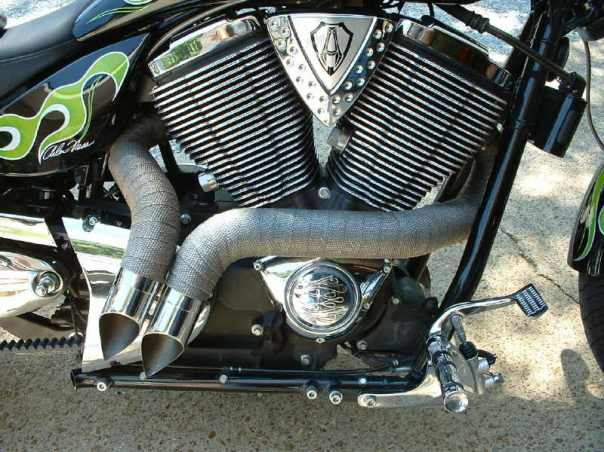 LoneWolfs GPIIs shorty pipes