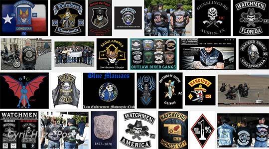 police biker gangs