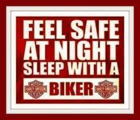 sleep with a biker