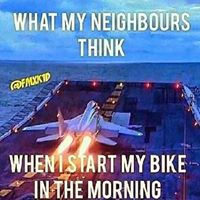 what my neighbors think jet engine