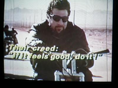 if it feels good do it biker creed