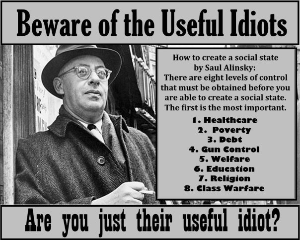 democrat - saul alinsky useful idiots
