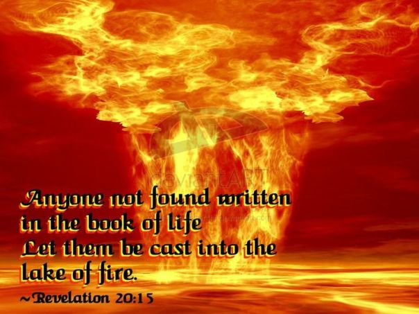 Jesus - cast into the lake of fire