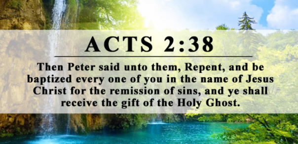 Jesus - gift of Holy Spirit 2