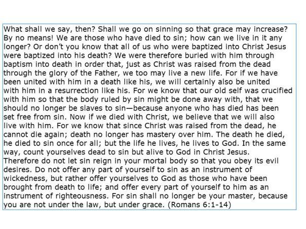Jesus - Hom Rom 6 1-14