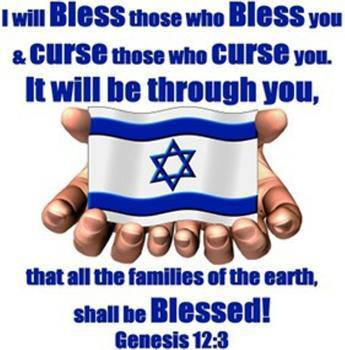 Jesus - I will bless those who bless you