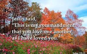 Jesus - love one another