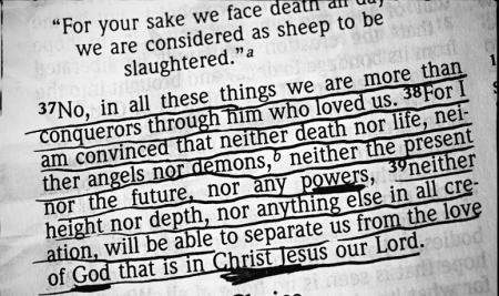 jesus - more that conquerors