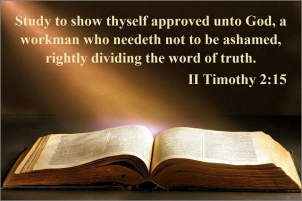 Jesus - Study to show yourself approved
