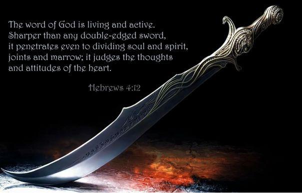 jesus - the word of God is sharper