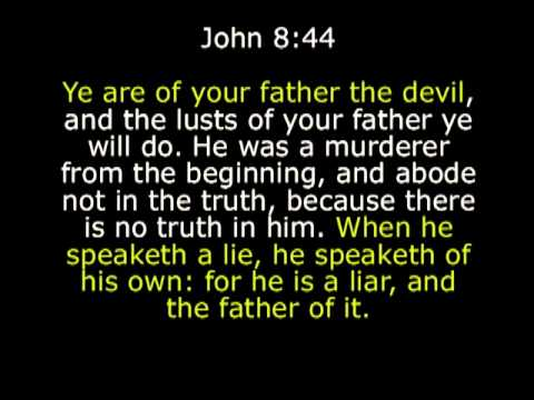 Jesus - you are of your father the devil