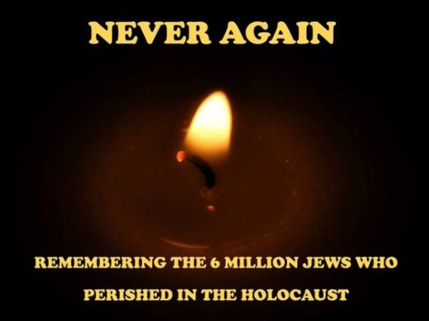jesus - never again jewish holocaust