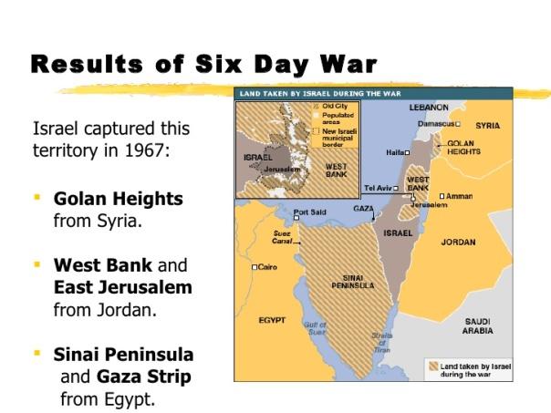 jesus - six day war