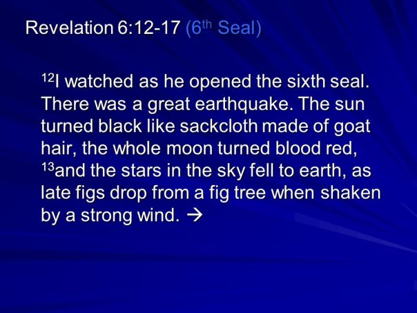 jesus - stars fall from heaven