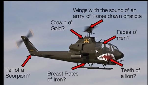 Revelation 9 helicopter