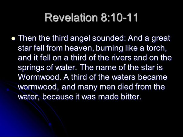 revelation burning star