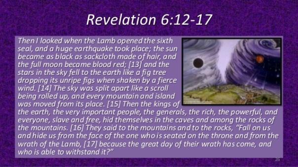 the wrath of god in rev