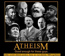 atheism - good enough for these guys