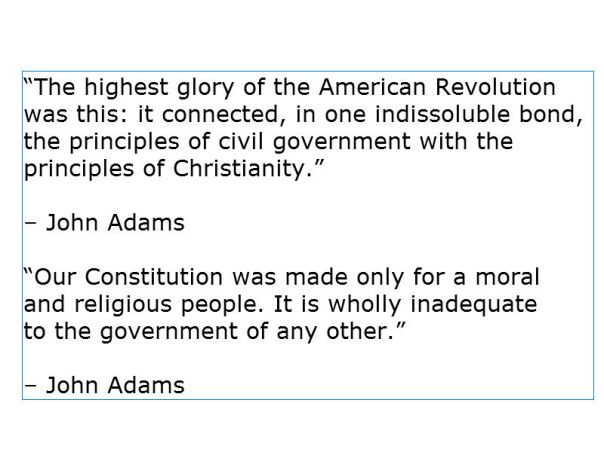 Christian Nation - John Adams 2