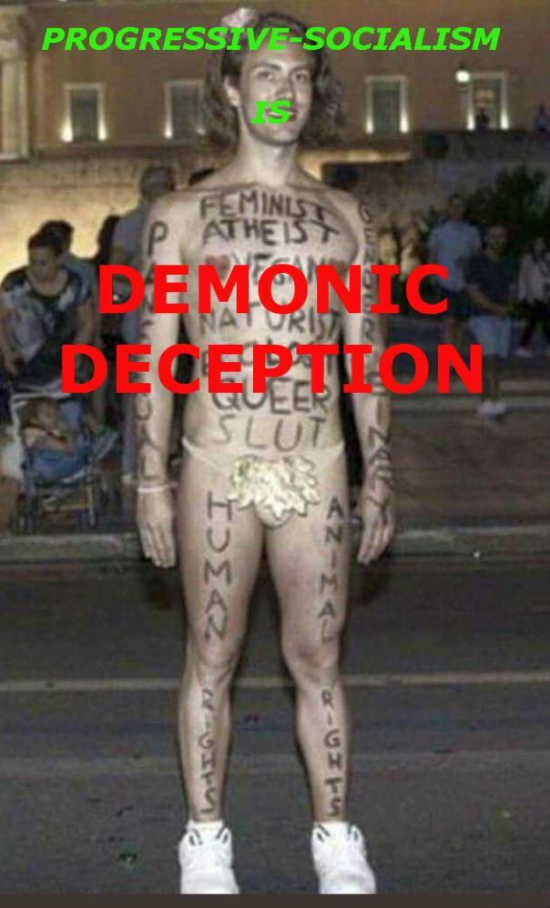 Democrat - atheist slut queer DEMONIC DECEPTION