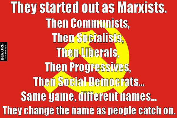 democrat - progressives...same game different names.