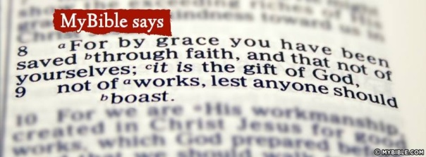 Jesus - by grace through faith not works