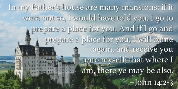 jesus - i go to prepare a place for you