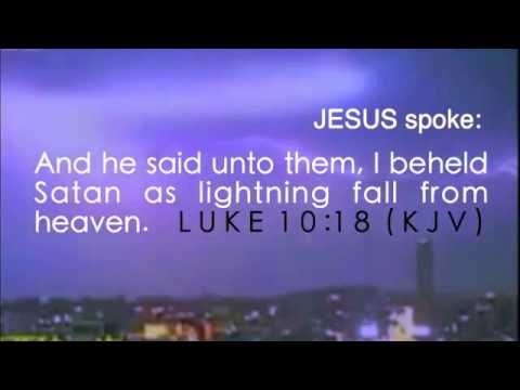 Jesus - I watched satan fall
