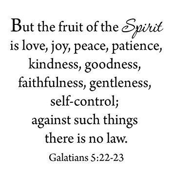 Jesus - fruits of the spirit