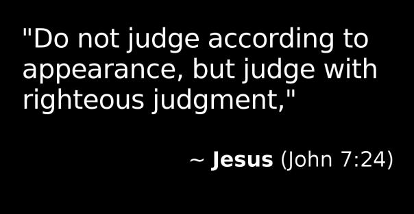Jesus - judge w righteous judgment