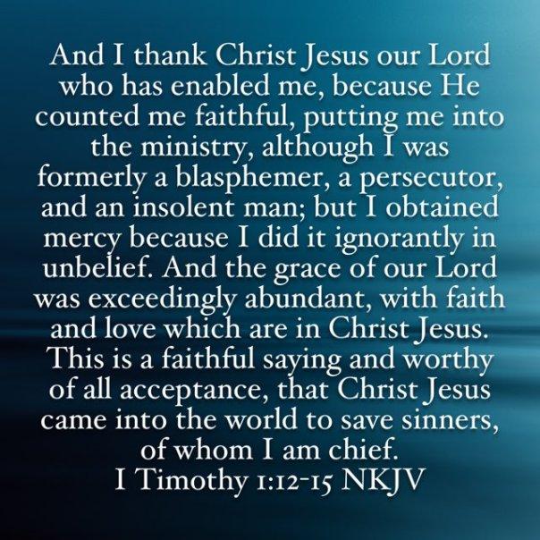 jesus - pauls confession - testimony