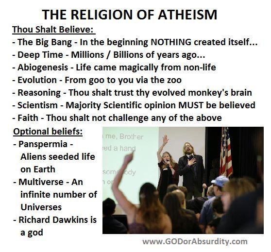 atheism - the religion of atheism