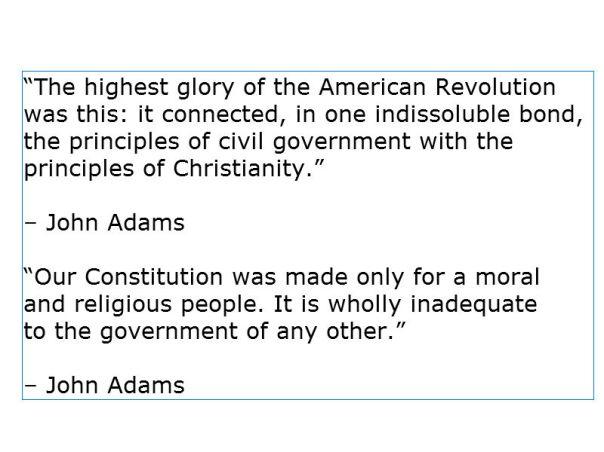 Christian Nation - John Adams 2