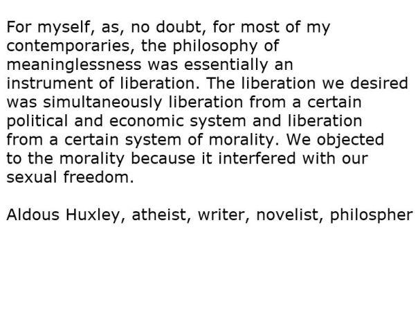 Evolution - Statement 10 Huxley
