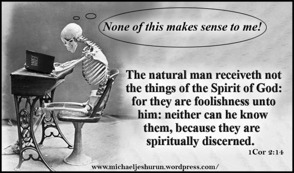 jesus - spiritually dead man