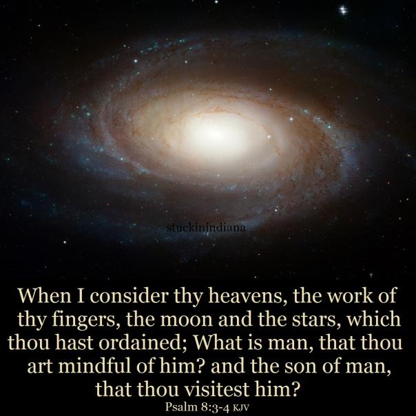 Jesus - when I consider thy heavens, the work of thy fingers