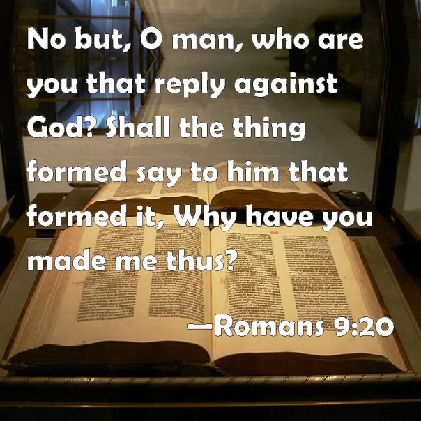 jesus - who are you that reply against the Lord