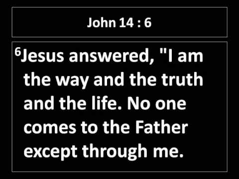 jesus - I am the way the truth the life