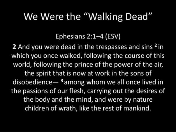 Jesus - dead in trespasses and sin
