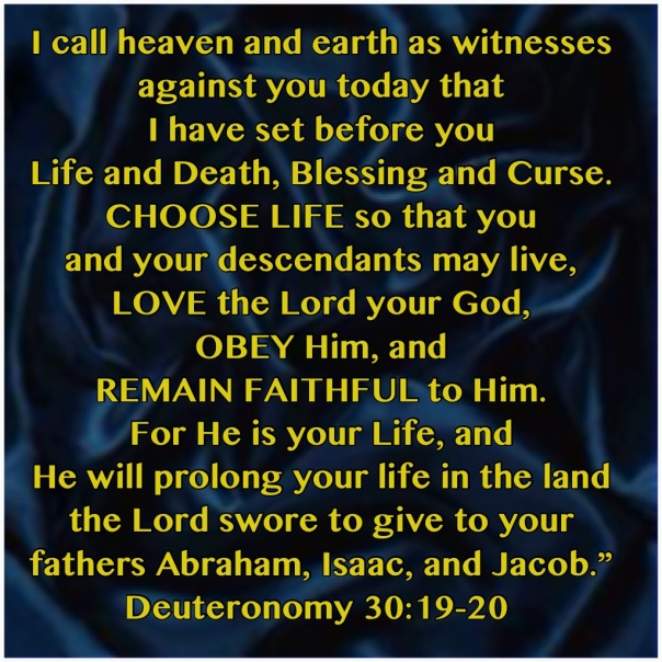 jesus - choose life