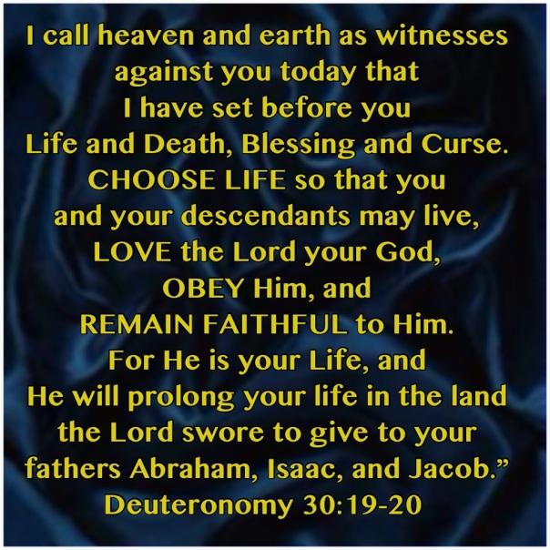 jesus - choose life
