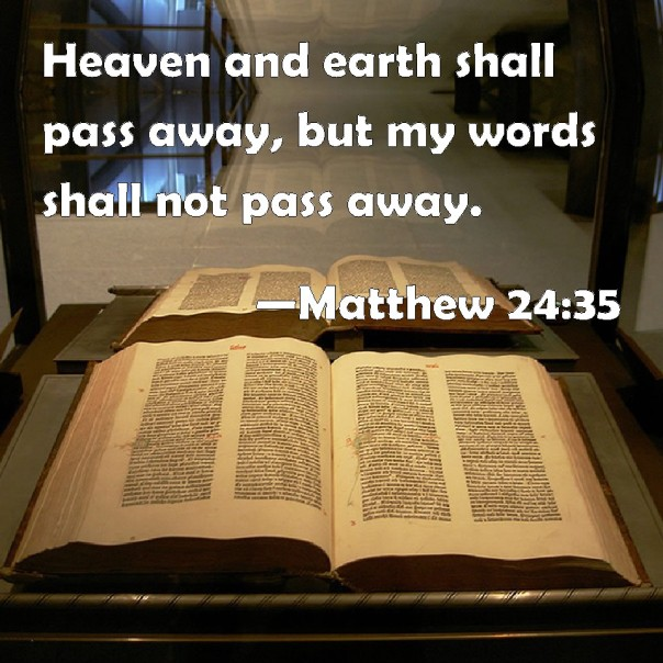 Jesus - the word shall never pass away