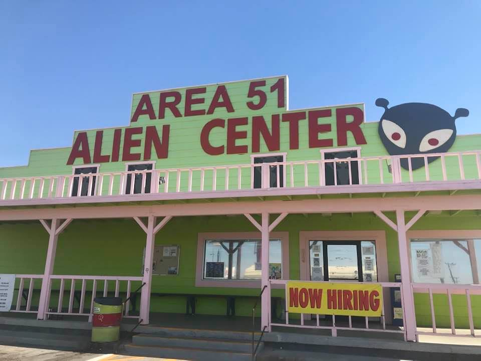 This image has an empty alt attribute; its file name is rv-area-51-alien-center.jpg